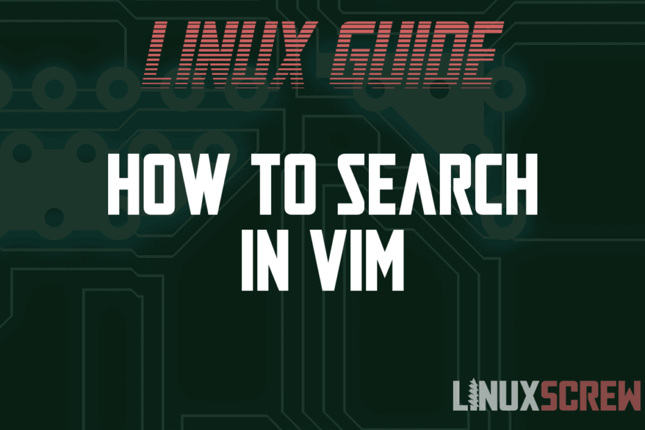 How to Search in Vim