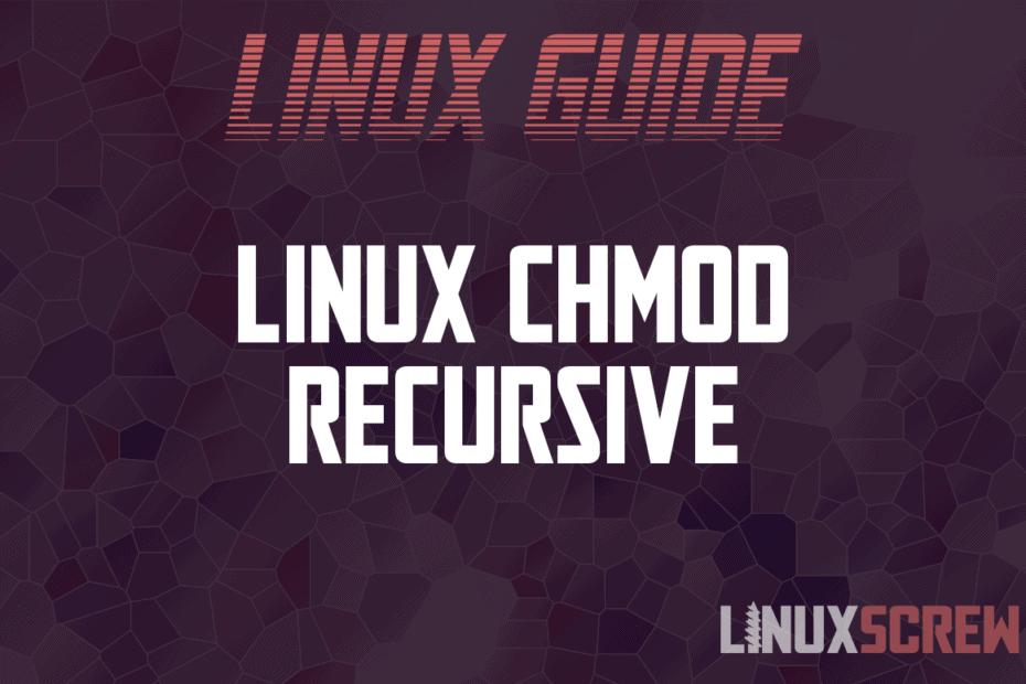 Linux chmod Recursive