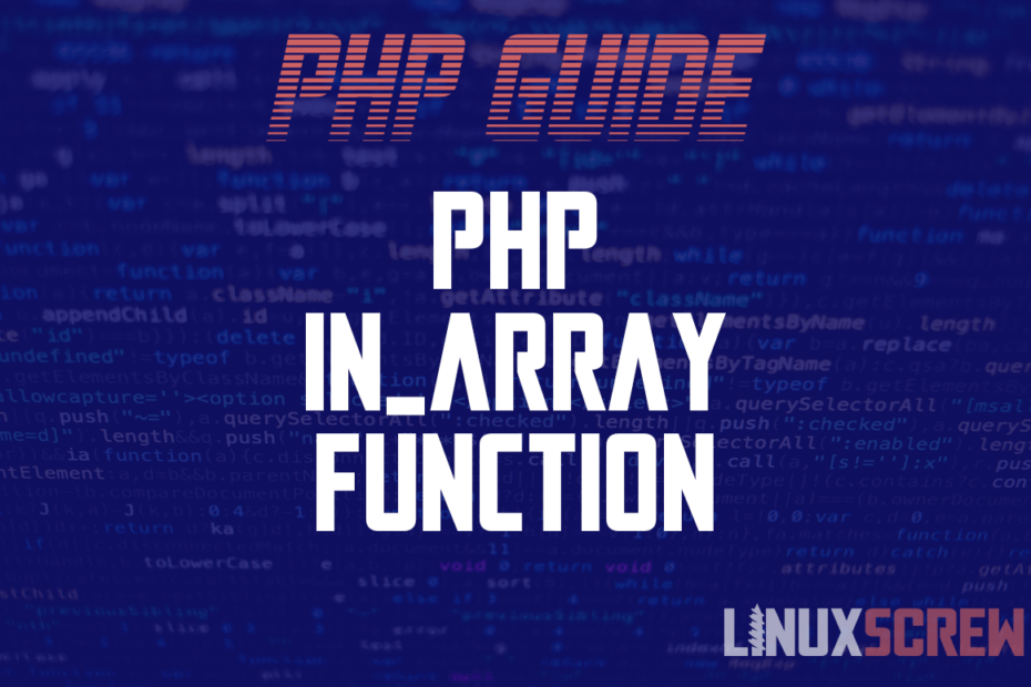 PHP in_array Function