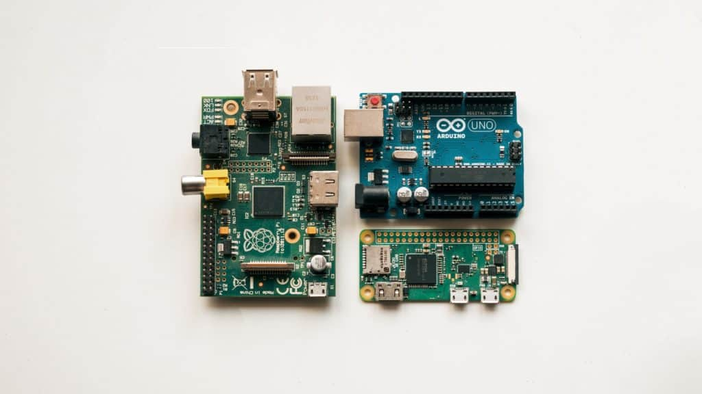Raspberry Pi and Arduino Boards