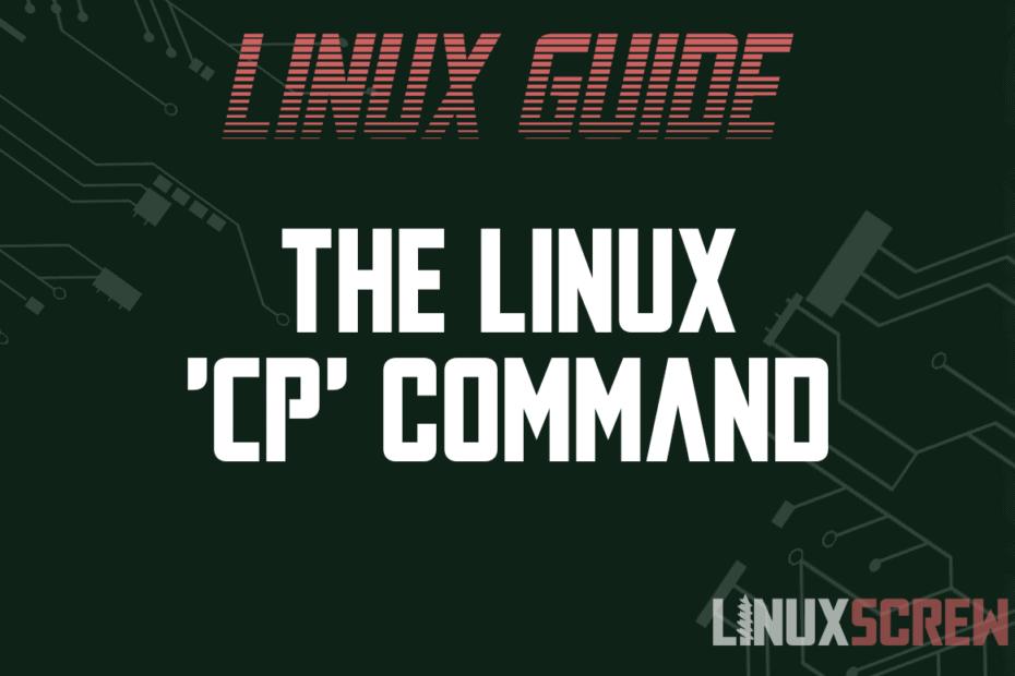 'cp' Command
