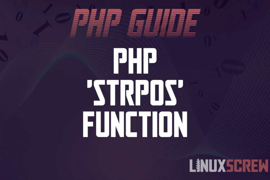 php strpos function