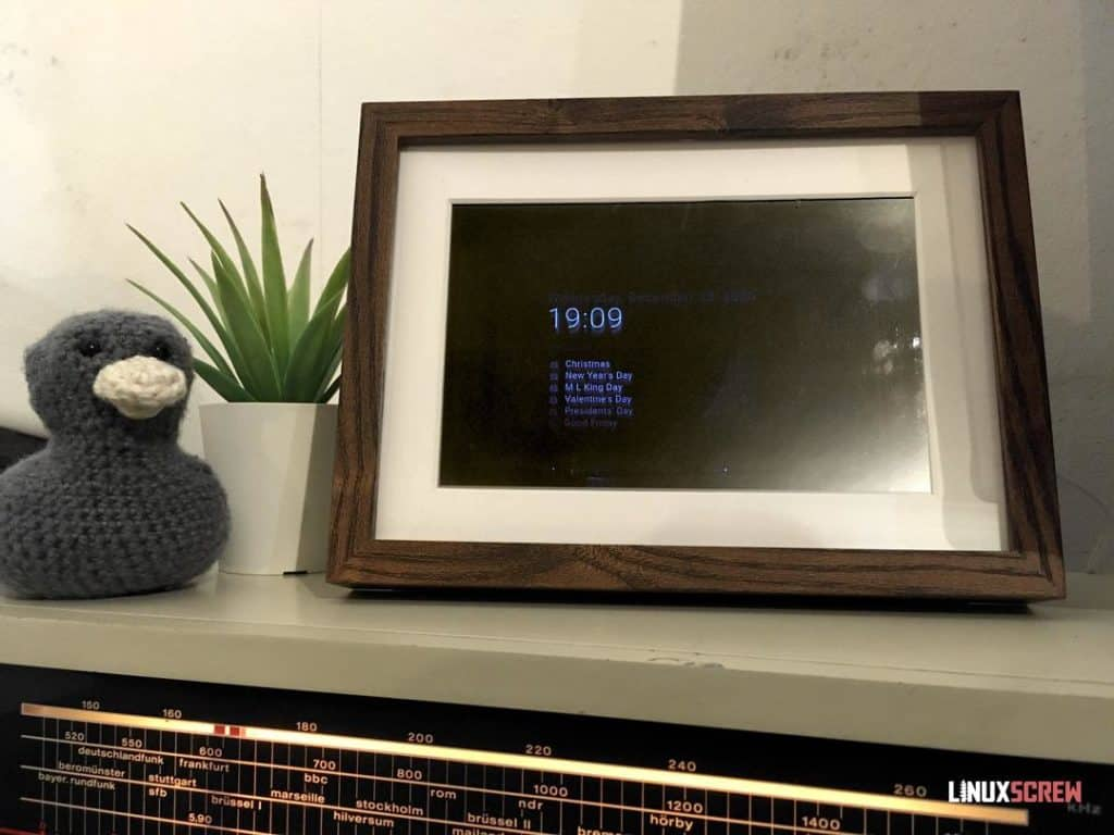 Completed Smart Mirror (1/2)