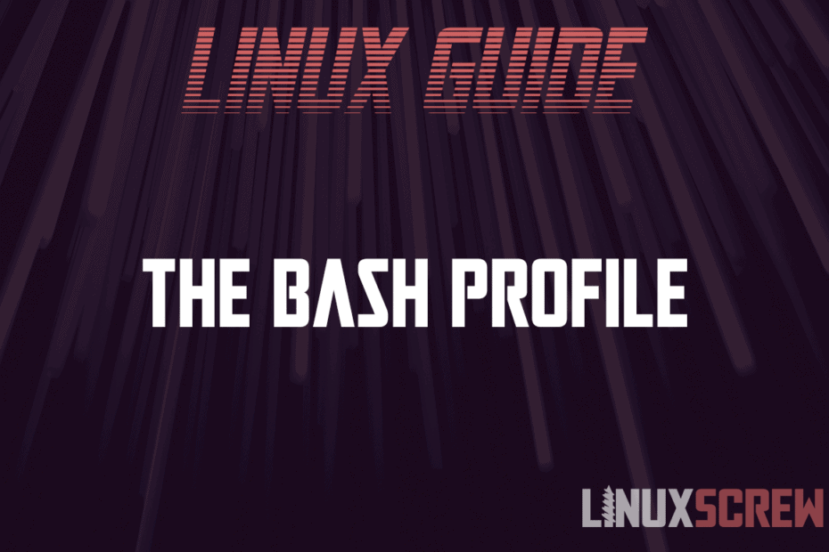 Bash Profile 1