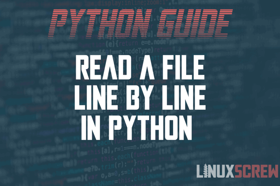 Line by Line in Python