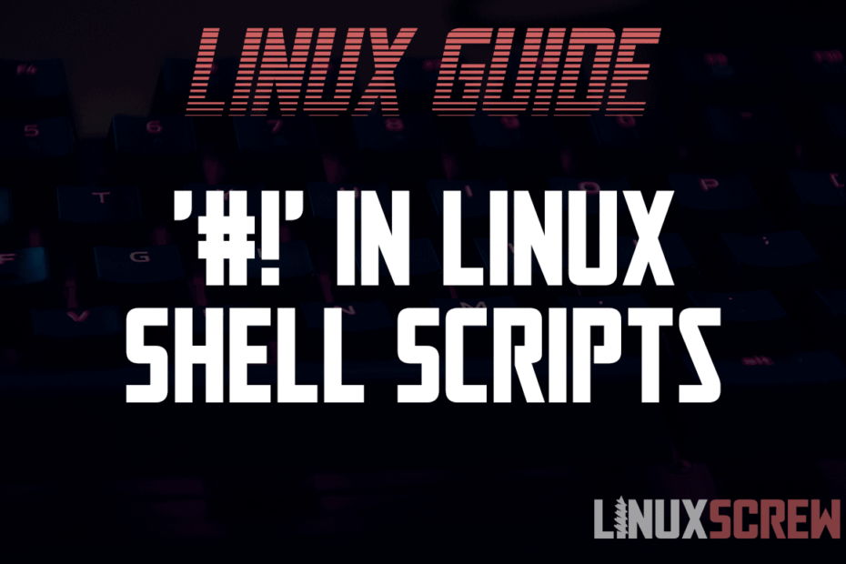in Linux Shell Scripts