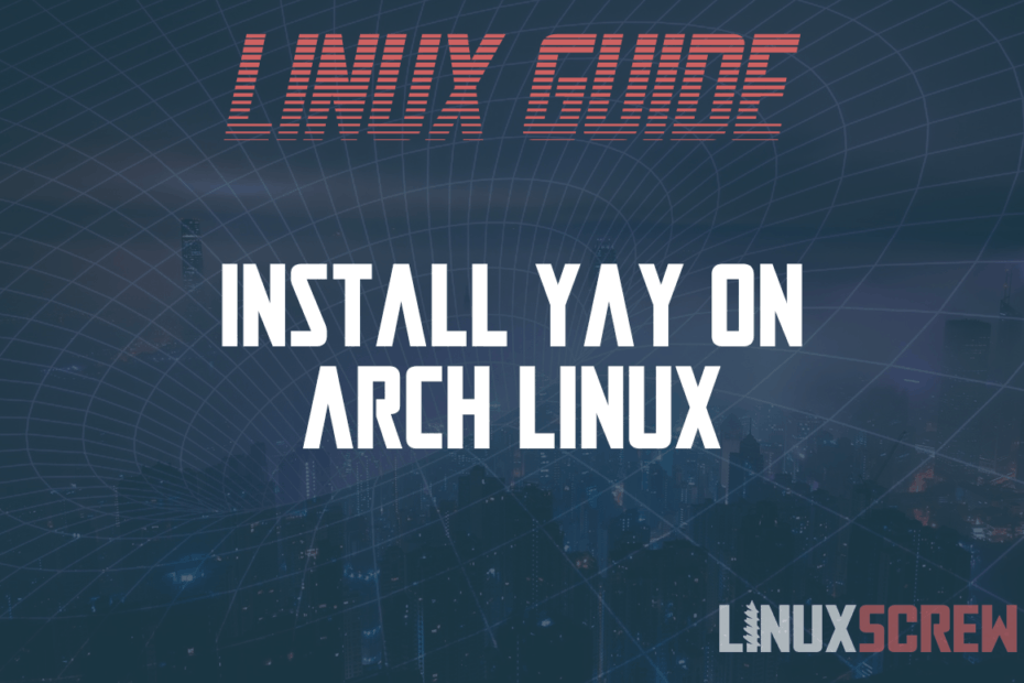 install yay on arch