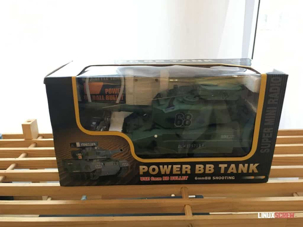 The boxed tank