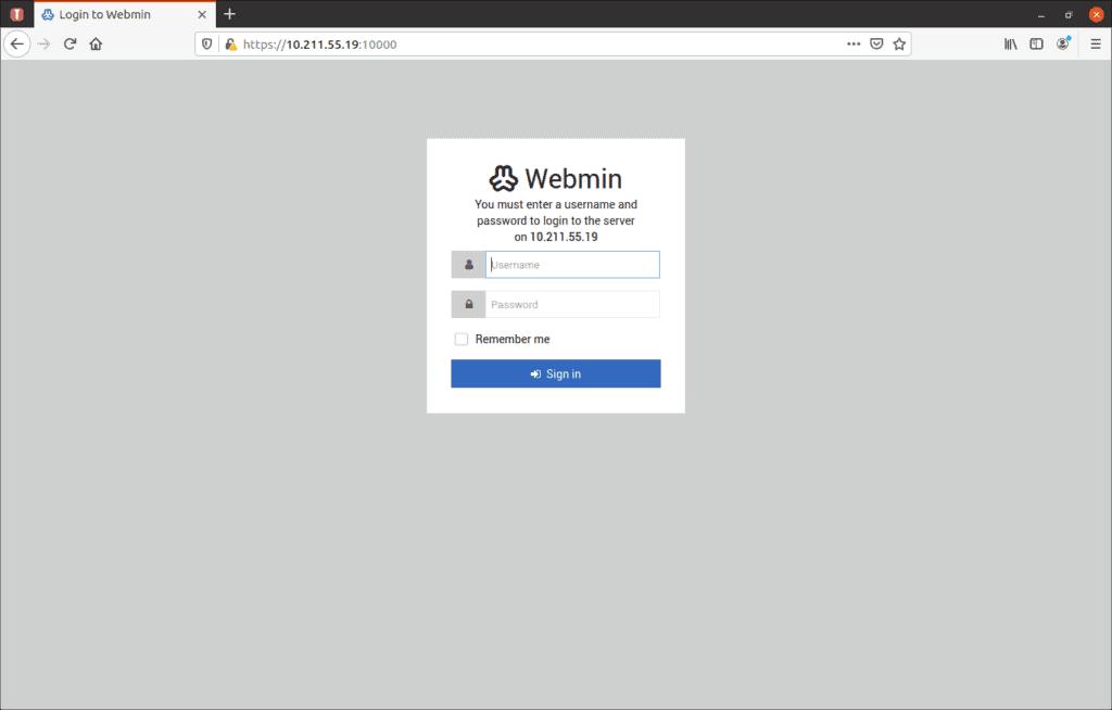 webmin install ubuntu 11