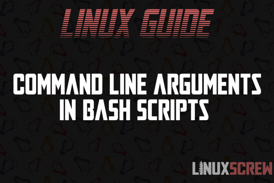 Command Line Arguments in Bash Scripts
