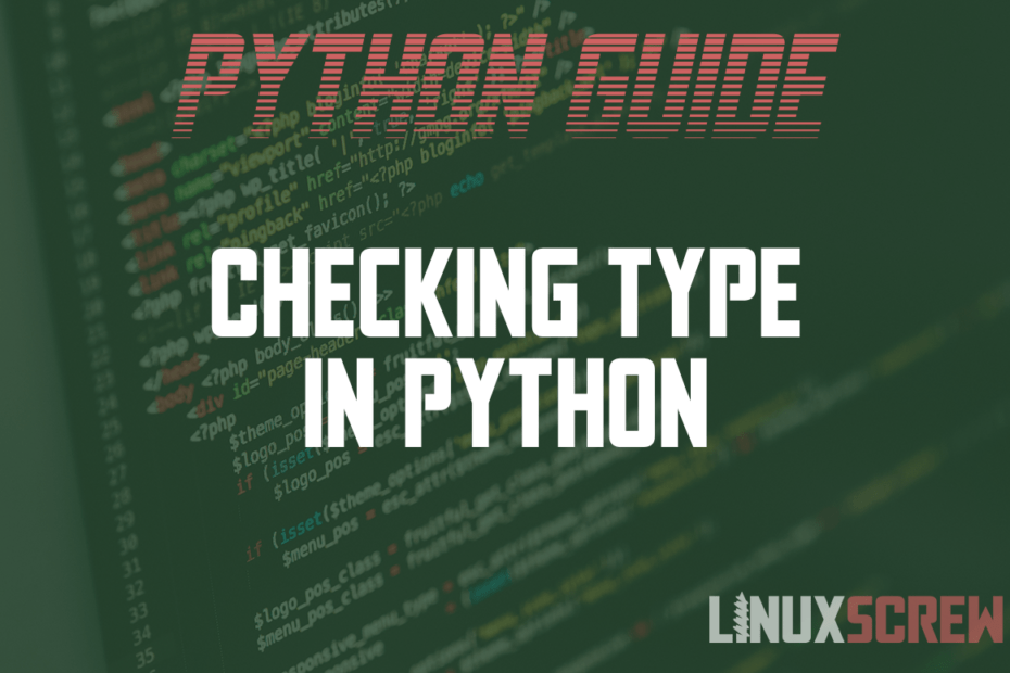 Checking Type in Python