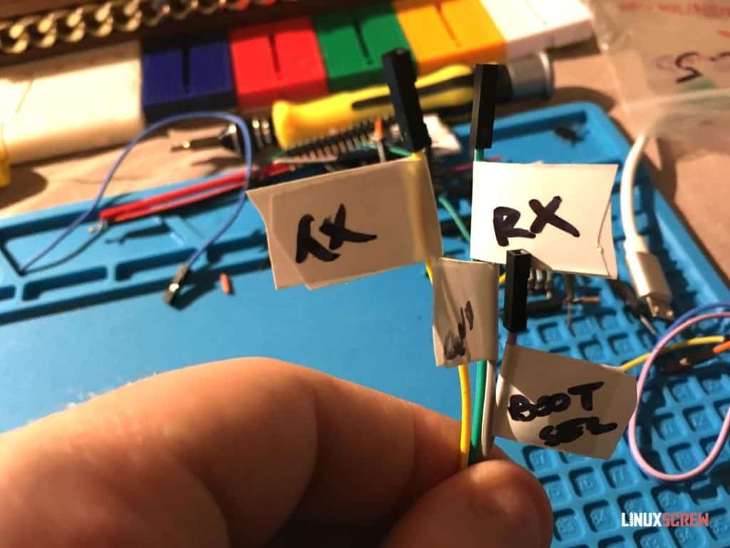 Wire labels