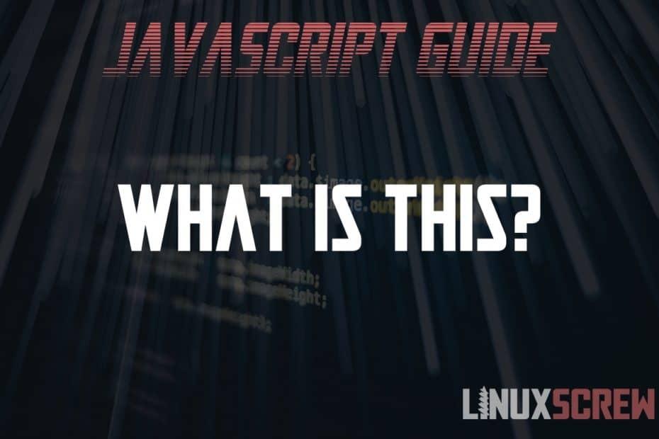 JavaScript 'this'