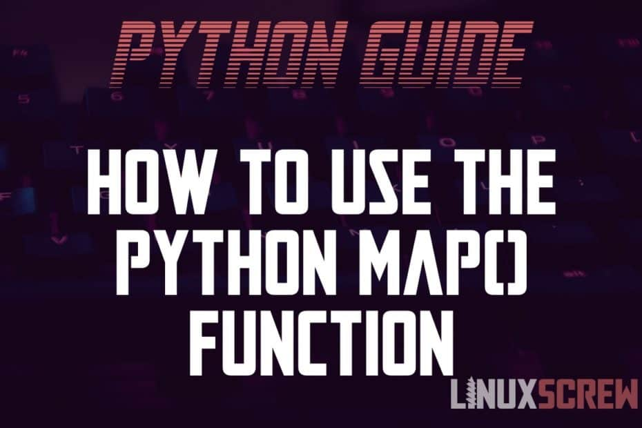 Using Python Map()