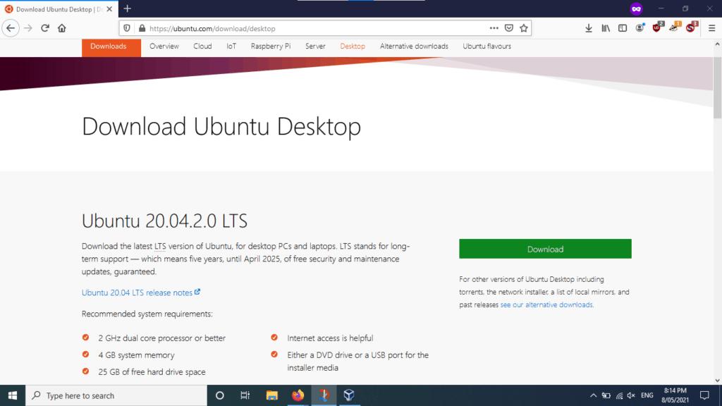 ubuntu virtualbox 14