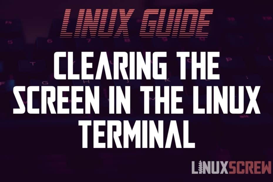 Linux clear Command