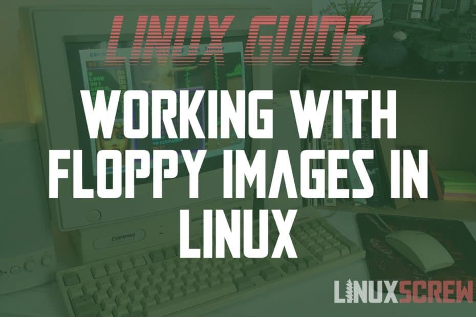 Linux dd read write floppy images