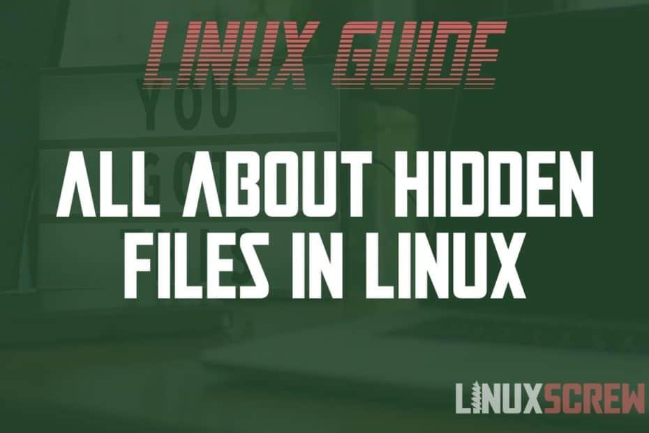 Linux hidden files