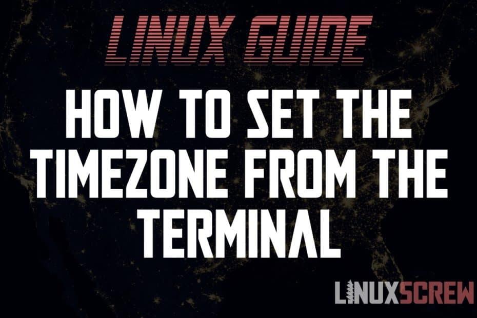 Linux set timezone