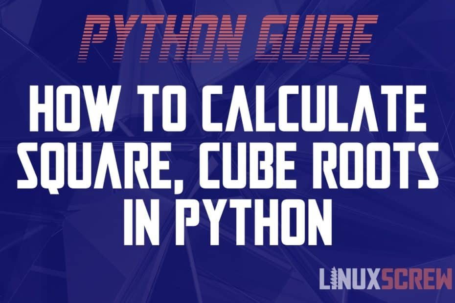 Python Calculate Square Root