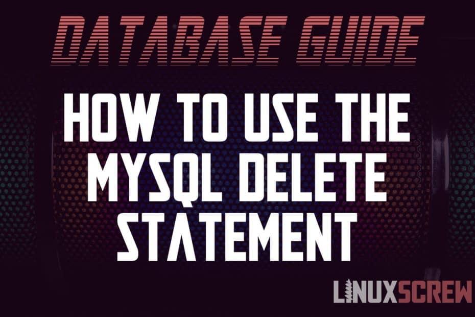 MySQL Delete