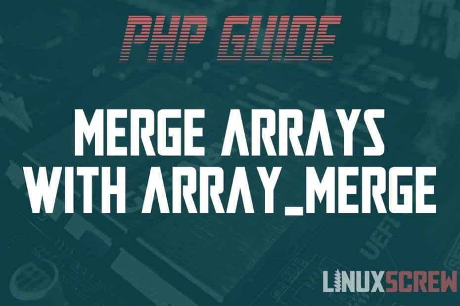 PHP array_merge